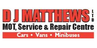 D J Matthews Ltd MOT, Service & Repair Centre