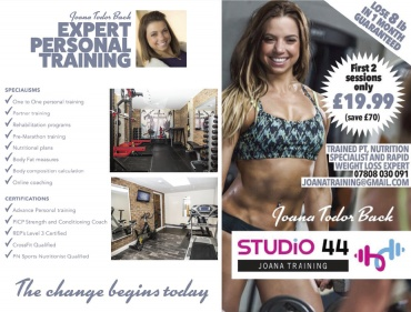 Studio 44 Joana Training