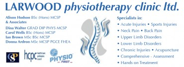 LARWOOD physiotherapy clinic ltd.