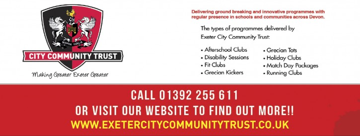 Click here to visit Exeter City FC Football in the Community