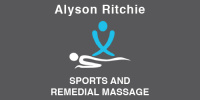Alyson Ritchie: Sports & Remedial Massage Therapist